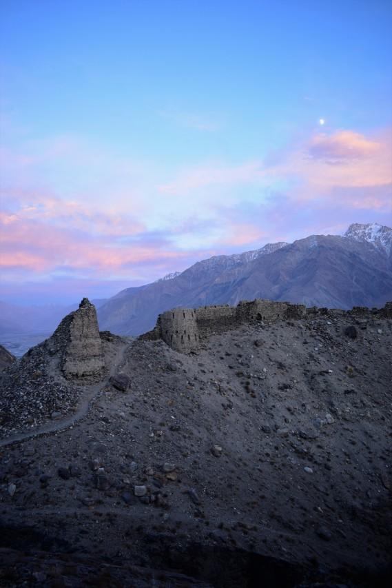 Rudkhan Castle, Tajikistan, 2017
