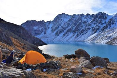 Ala-kol Lake, Kyrgyzstan, 2017
