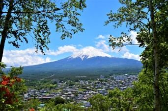 Mount Fuji, Japan, 2018