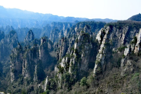 Zhangjiajie, China, 2018